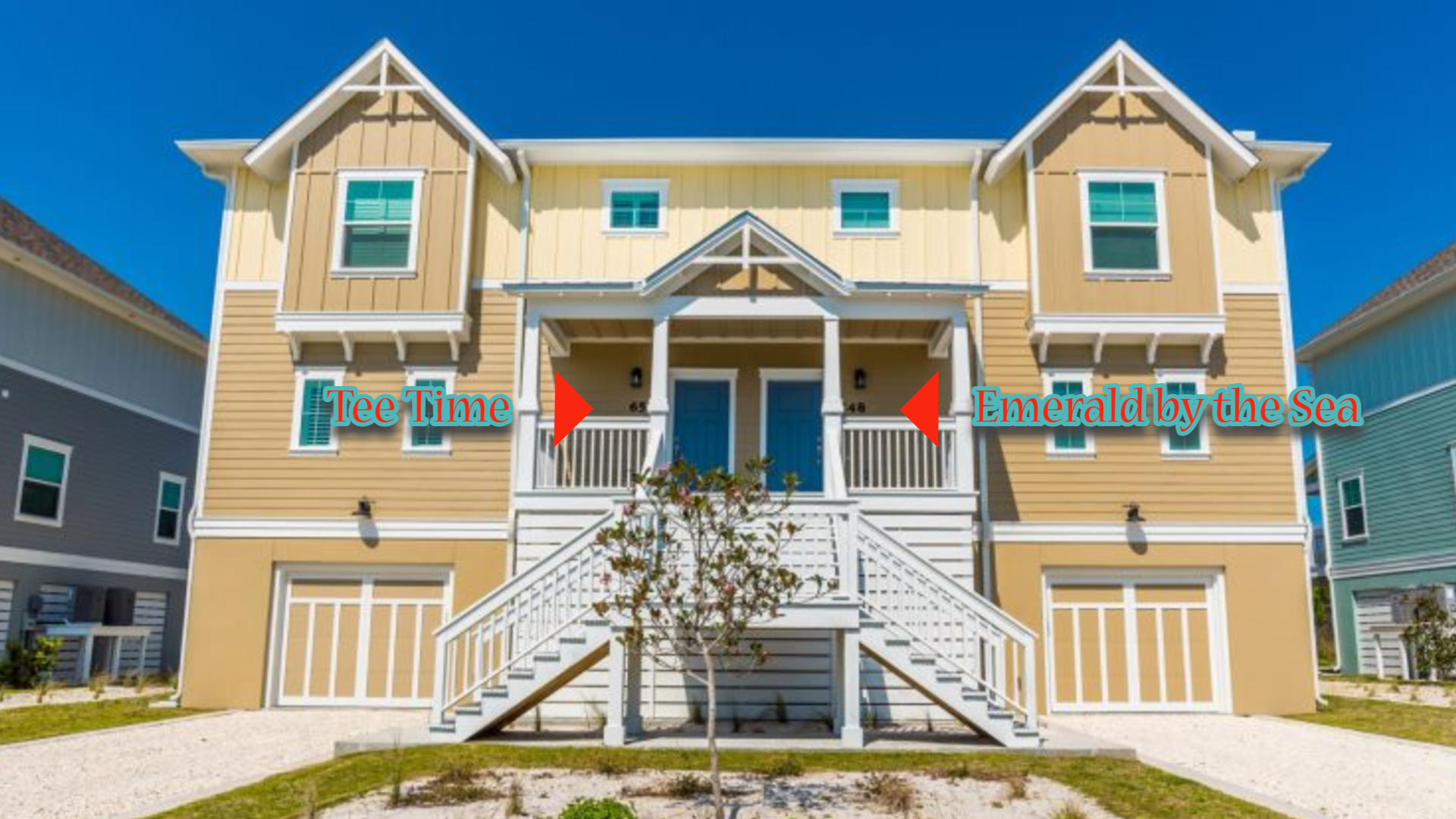 Tee Time & Emerald by the Sea Perdido Key Vacation Rentals
