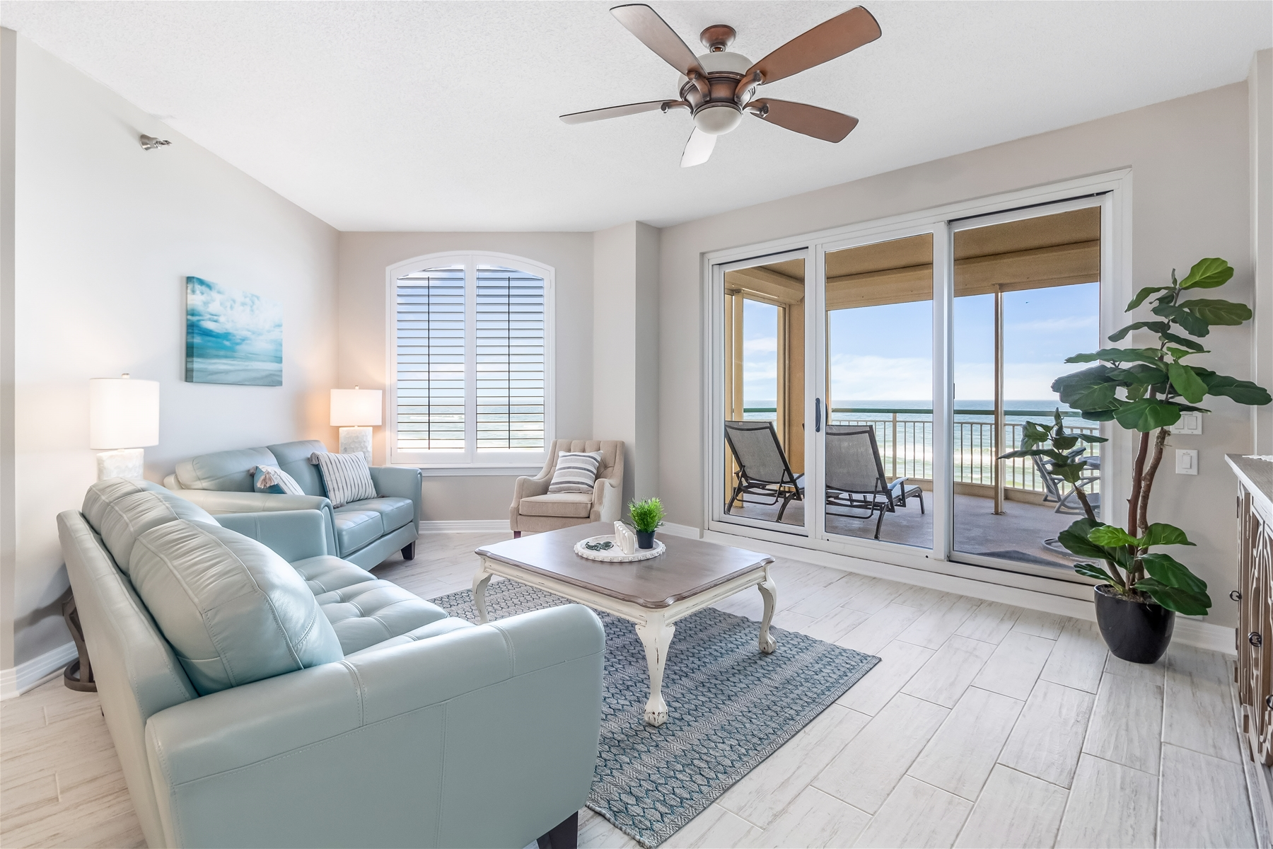 Perdido Key Rental Porch Overlooking Beach