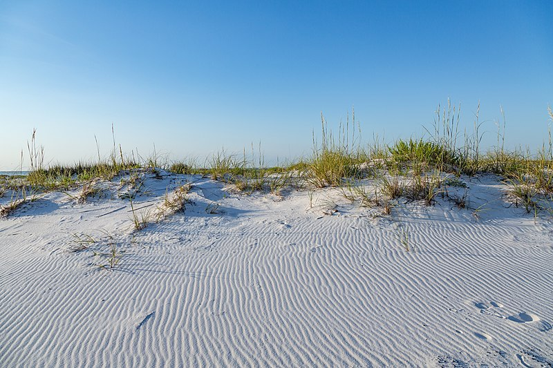 Pensacola Beach in Fall