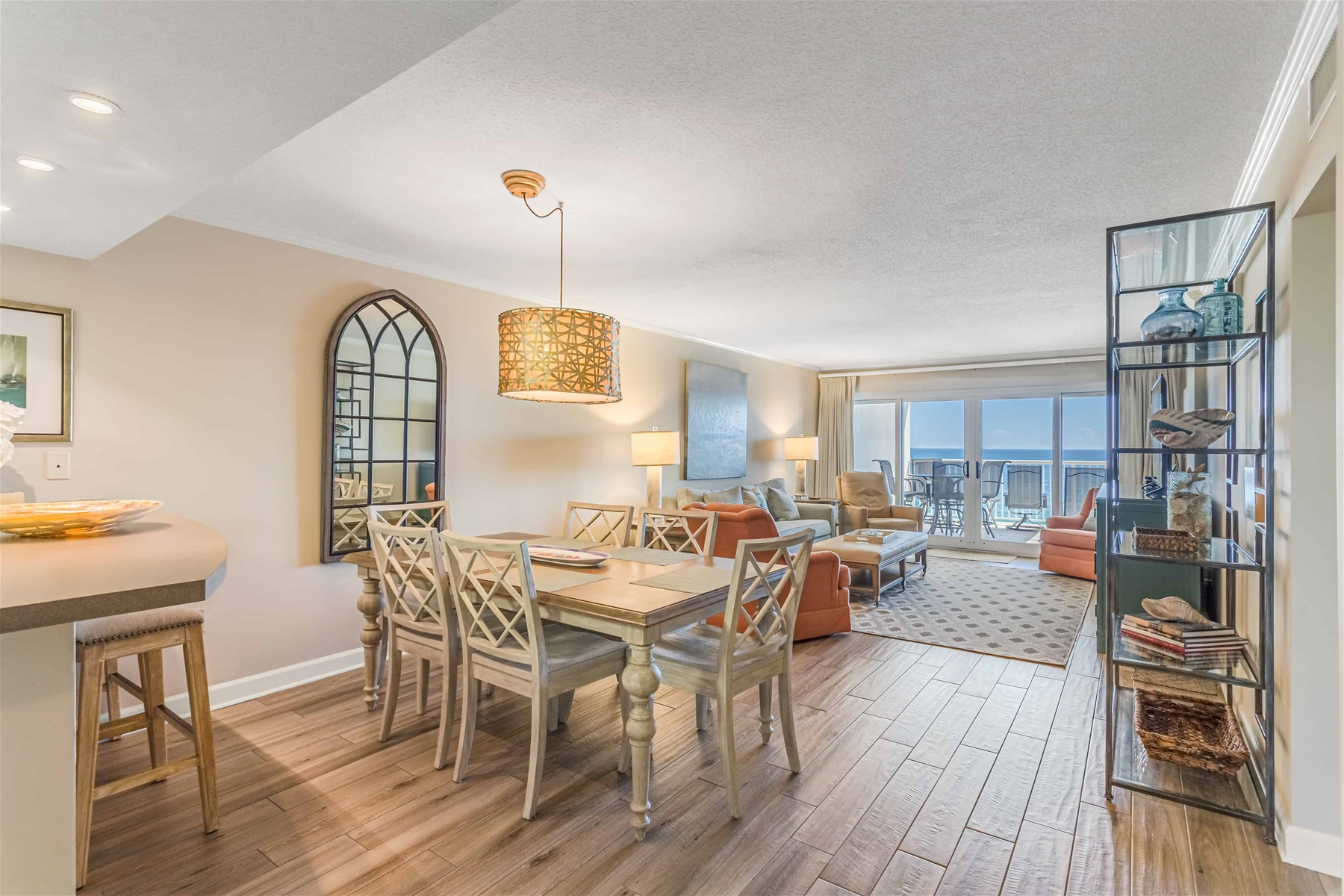 Sandy Key Vacation Rental Dining Room